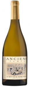 Anciens Temps 50 % Sauvignon blanc und 50 % Chardonnay.