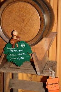 Portwein aus dem Faß